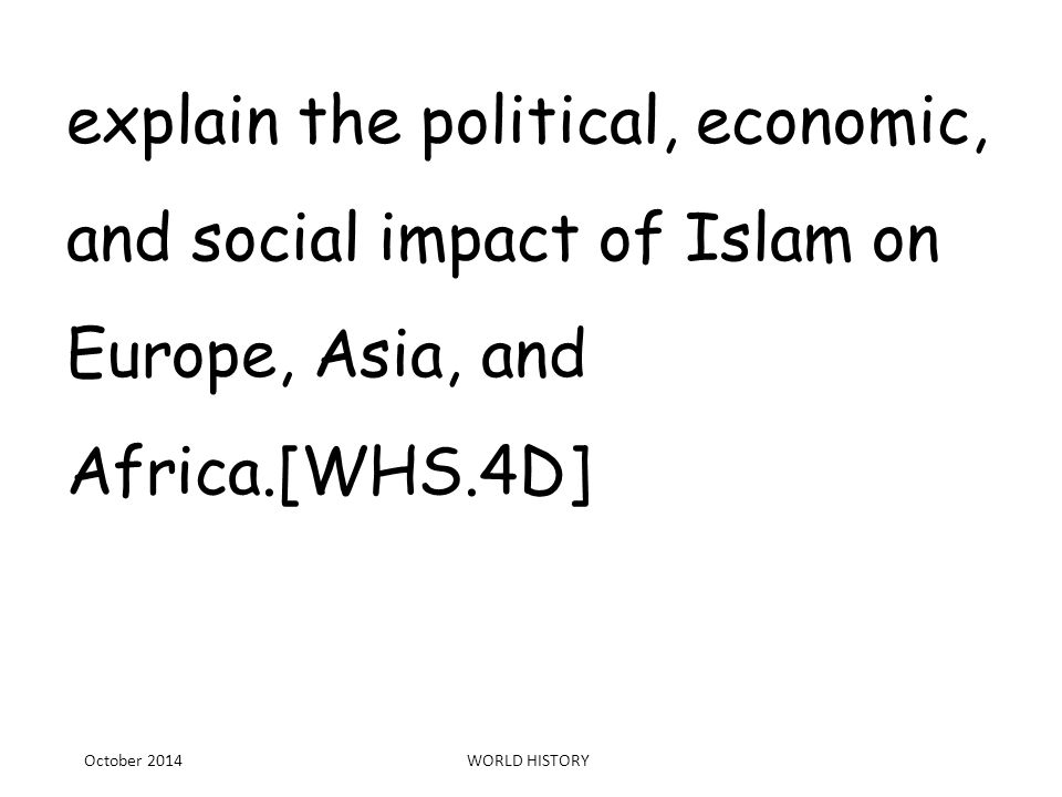 The impact of political, economic, socio-cultural, environmental and other external influences